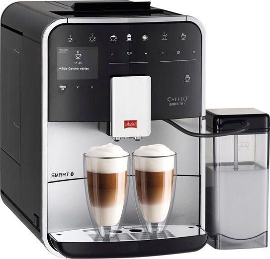 Melitta Kaffeevollautomat Barista T Smart F 83/0-101, silberfarben
