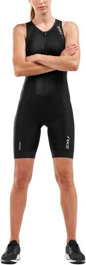 2xU Triathlonbekleidung »Perform Front Zip Trisuit Damen«