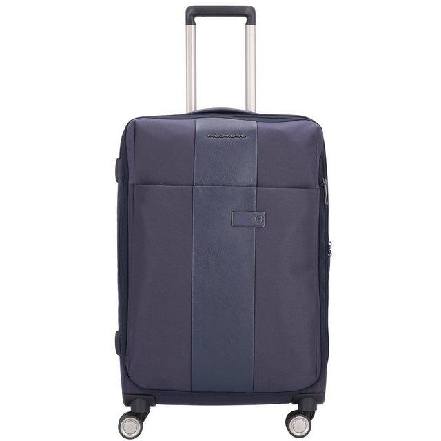 Piquadro Brief 4-Rollen Trolley 67 cm | Taschen > Koffer & Trolleys > Trolleys | Blau | Piquadro