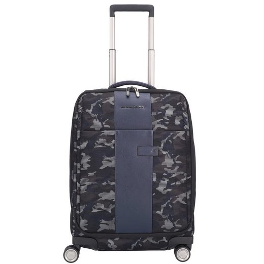 Piquadro Brief Travel 4-Rollen Kabinentrolley 55 cm