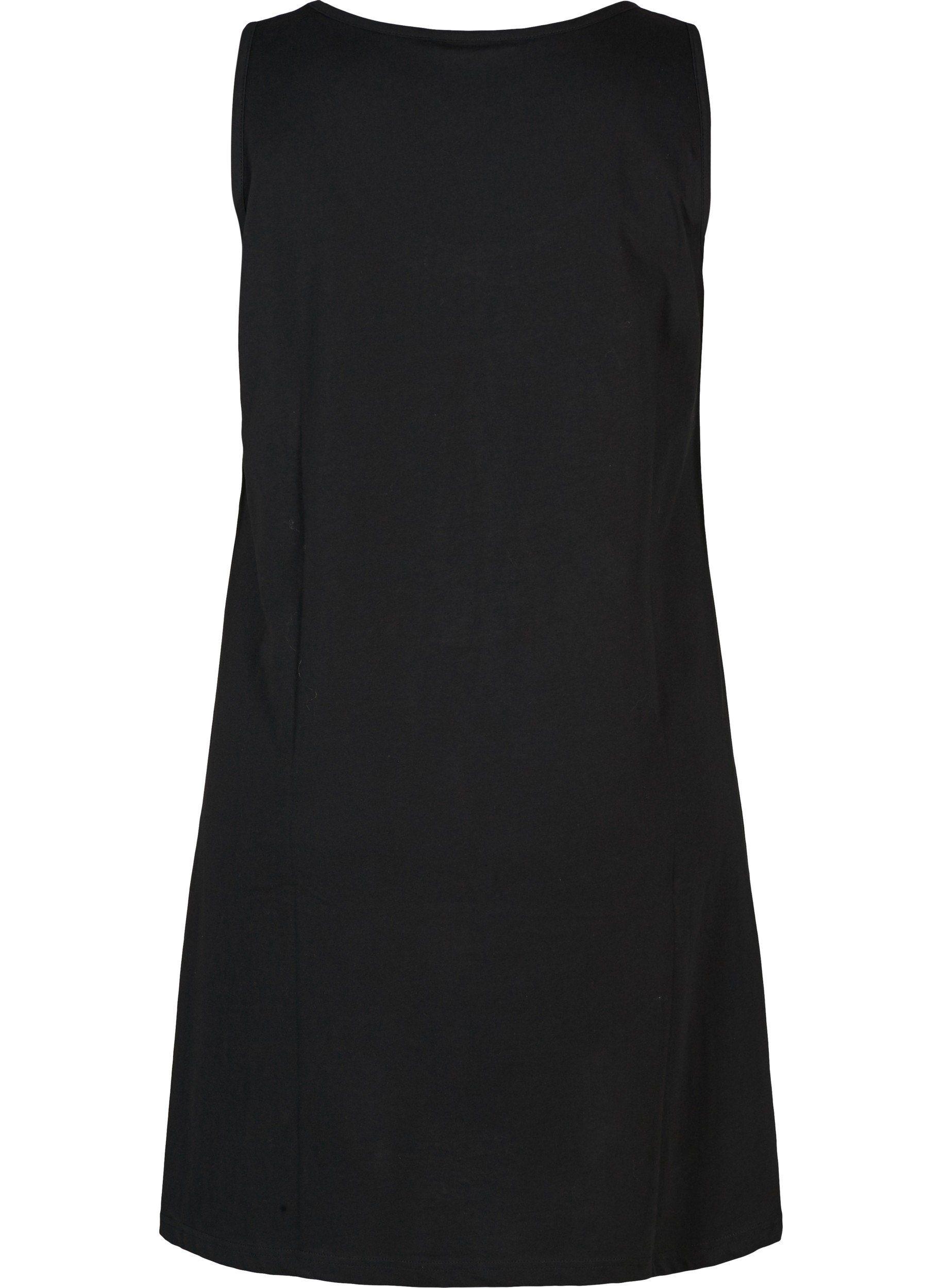 Damen Knielang Große Größen Sommerkleid Minikleid Kleid Kaufen linie Ärmellos Online Zizzi A Basic qSzMGpLUV