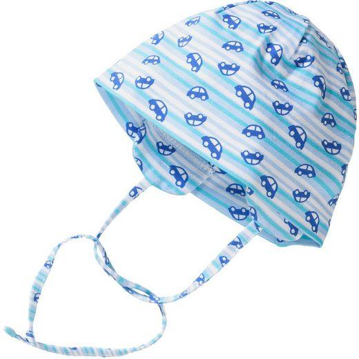 Sterntaler® Baby Wende-Hut zum Binden mit UV-Schutz 50+ für Jungen