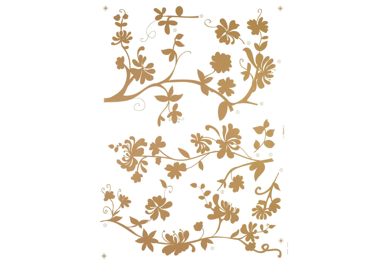 Komar, Wandsticker, »Frasca - Blumenranke«, 50/70 cm