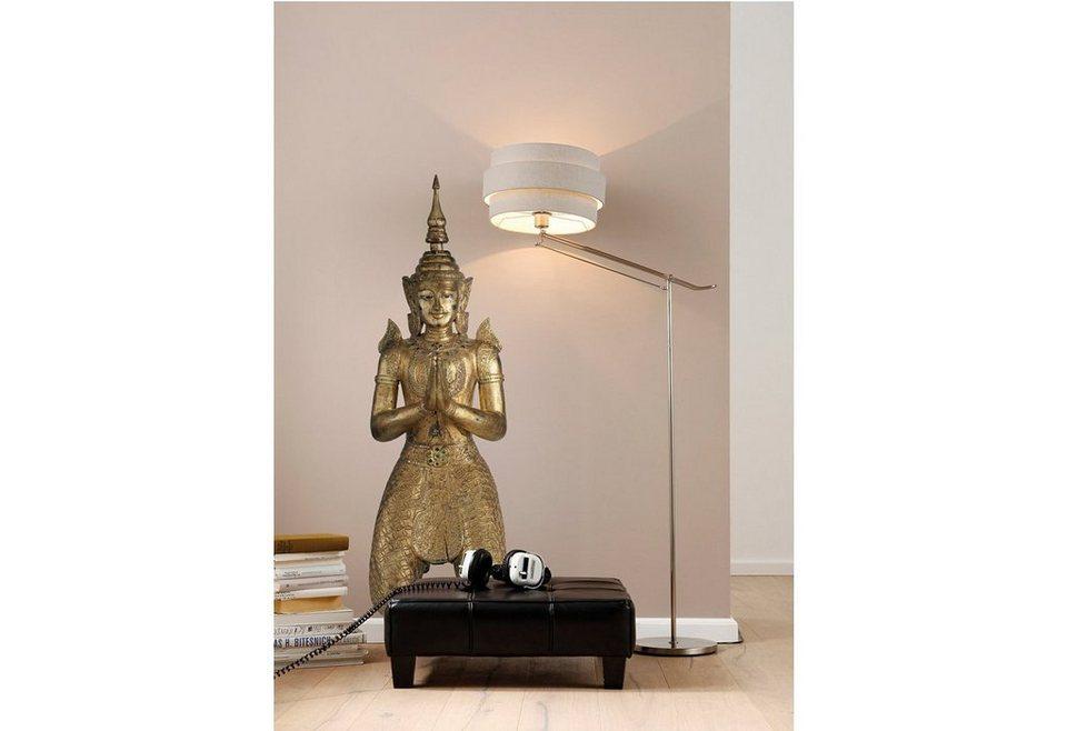 "Wandsticker, Komar, ""Buddha"", 46/150 cm in bronze"