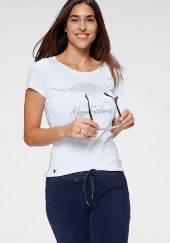 KangaROOS Marškinėliai su großem Label-Druck