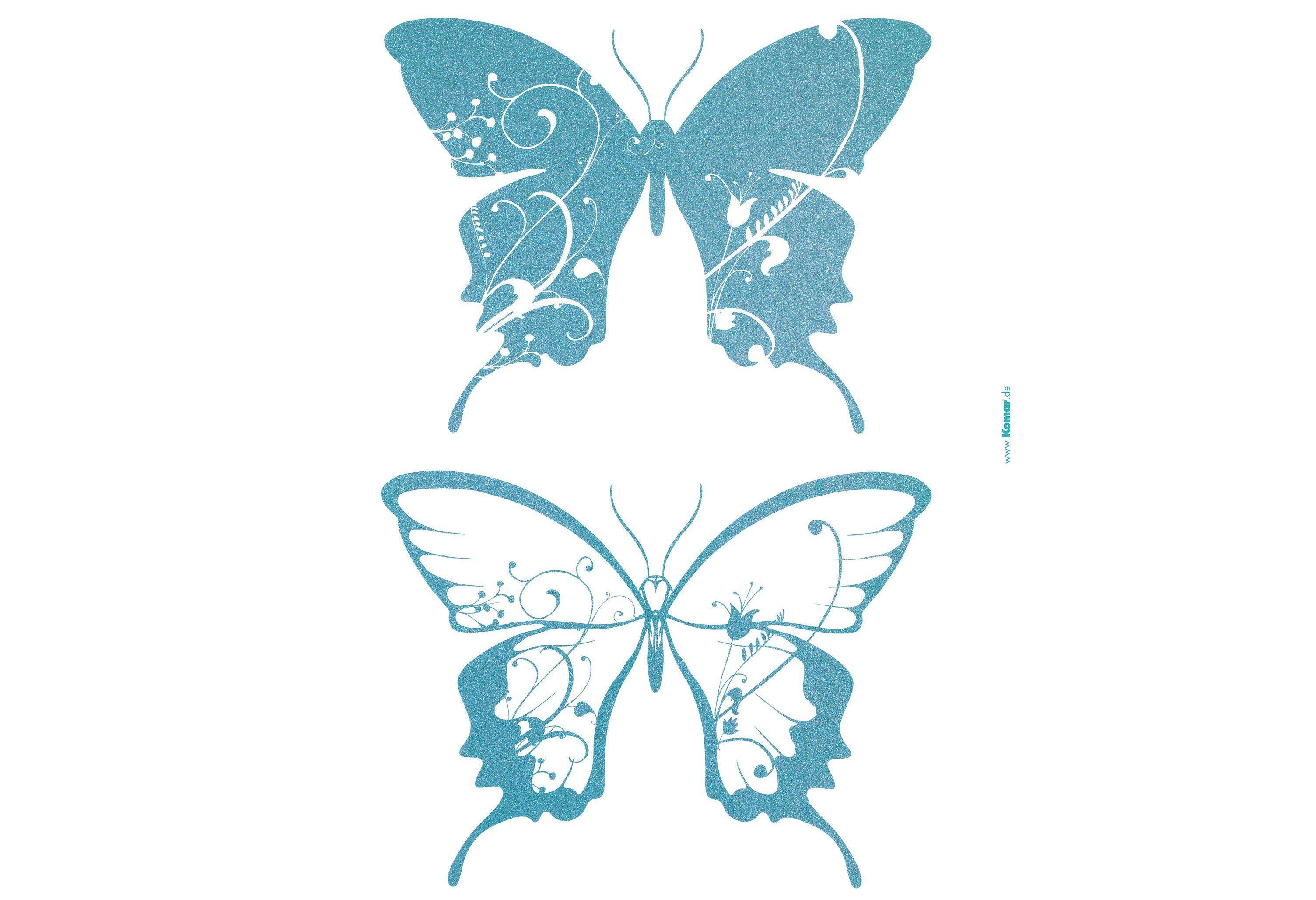 """Wandsticker, Komar, """"Schmetterlinge"""""""