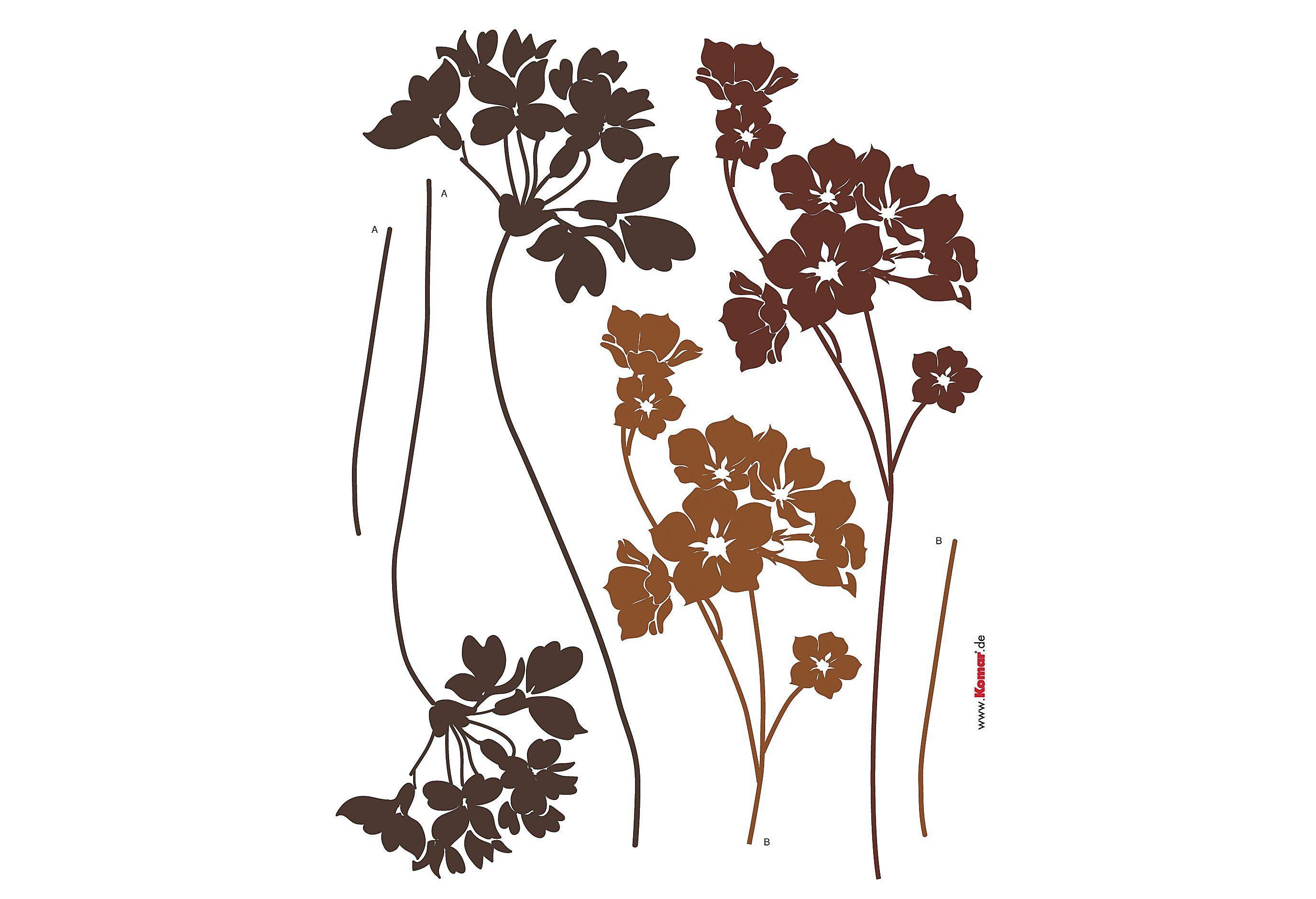 Komar, Wandsticker, »Blumen«