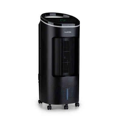 Klarstein Ventilatorkombigerät IceWind Plus 4-in-1 Luftkühler Ventilator Luftbefeuchter Luftreiniger 330 m³/h 49 Watt 7 Liter 4 Geschwindigkeiten 3 Modi Oszillation Ionisator Timer Fernbedienung mobil
