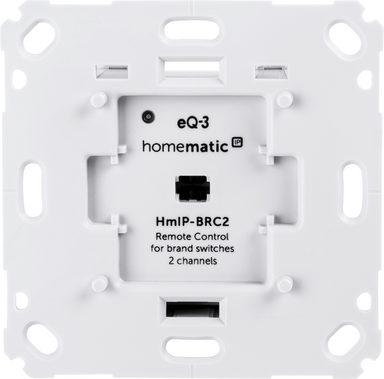 Homematic ip Smart Home »Wandtaster für Markenschalter – 2-fach (152000A0)«