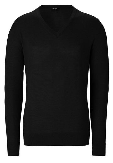 agon® V-Pullover mit Total-Easy-Care-Behandlung