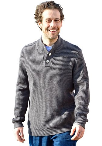 CLASSIC Megztinis su stačia apykakle