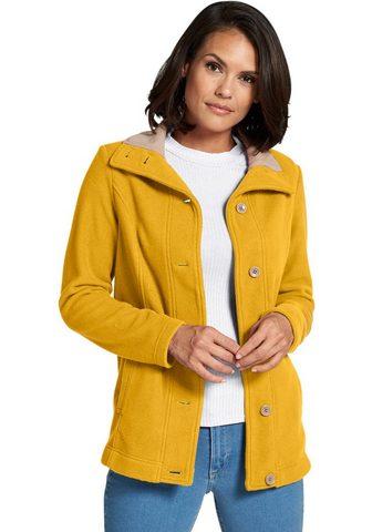 CLASSIC BASICS Флисовая куртка в verlängertem фа...
