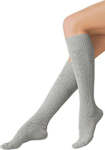 WÄSCHEPUR Wäschepur kojinės iki kelių (2 poros)
