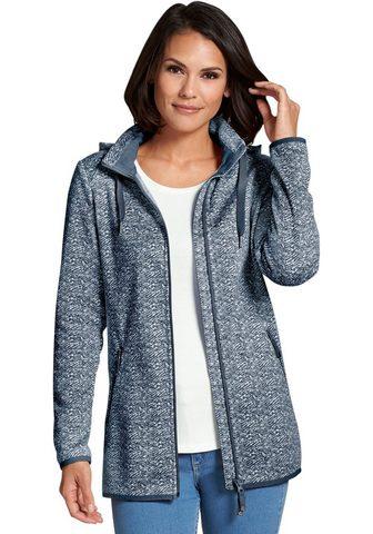 CASUAL LOOKS Флисовый пуловер с съемный капюшон
