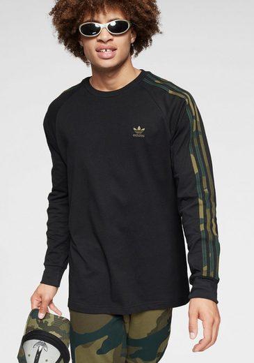 adidas Originals Langarmshirt »CAMO LONGSLEEVE TEE«