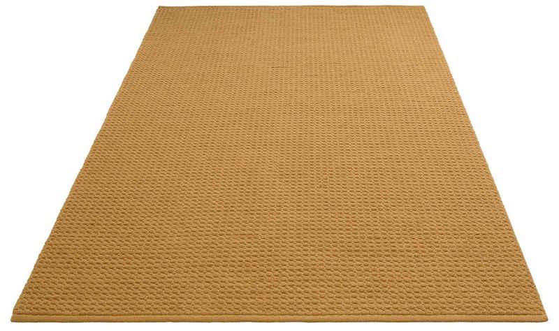 Teppich »Sanara«, DELAVITA, rechteckig, Höhe 13 mm, Strickoptik, Wohnzimmer