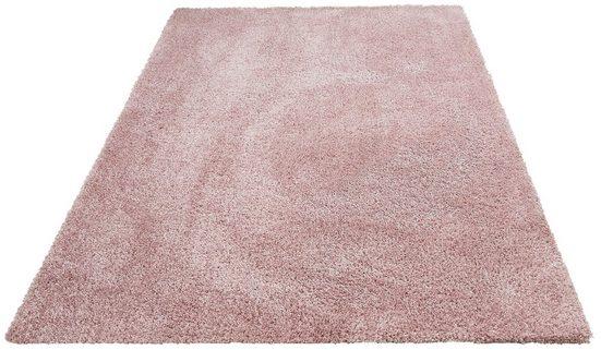 Hochflor-Teppich »Floris«, Leonique, rechteckig, Höhe 30 mm, Besonders weich durch Microfaser, Wohnzimmer