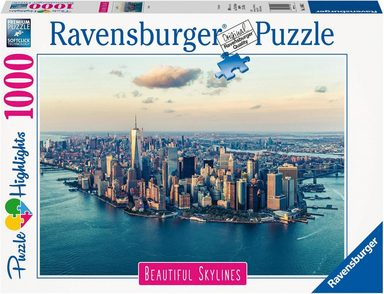 Ravensburger Puzzle »Puzzle Highlights Beautiful Skylines - New York«, 1000 Teilig, Softclick Technology