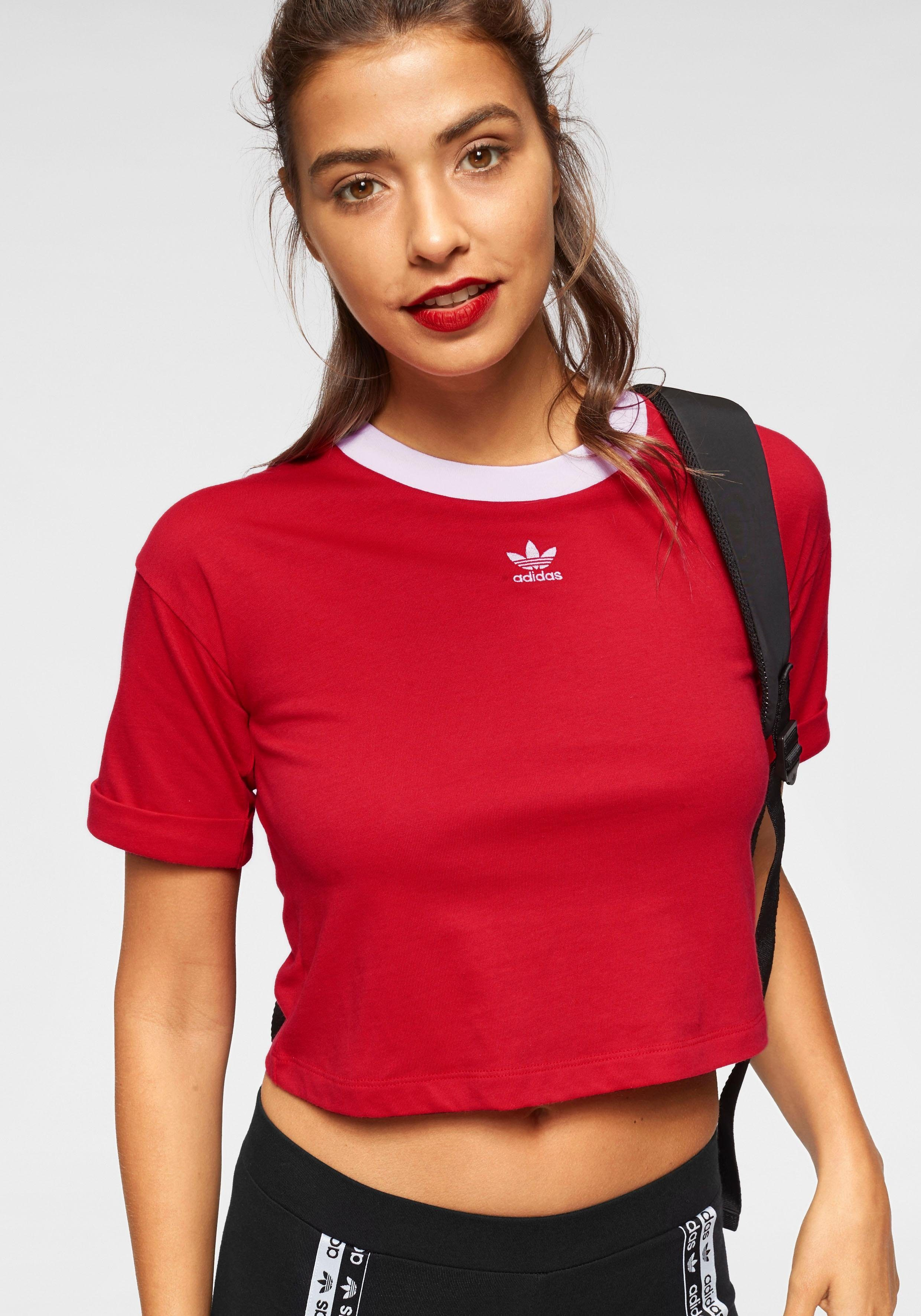 adidas Originals T Shirt »CROP TOP« online kaufen | OTTO