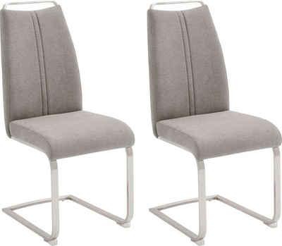 MCA furniture Freischwinger »Giulia A« (Set, 2 Stück), Stuhl bis max. 140 Kg belastbar