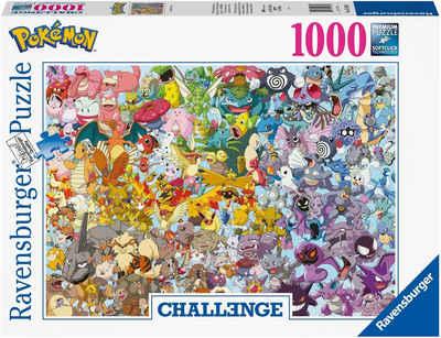 Ravensburger Puzzle »Challenge - Pokémon™«, 1000 Puzzleteile, Made in Germany, FSC® - schützt Wald - weltweit