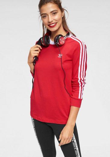 adidas Originals Langarmshirt »3 STRIPES LONG SLEEVE«