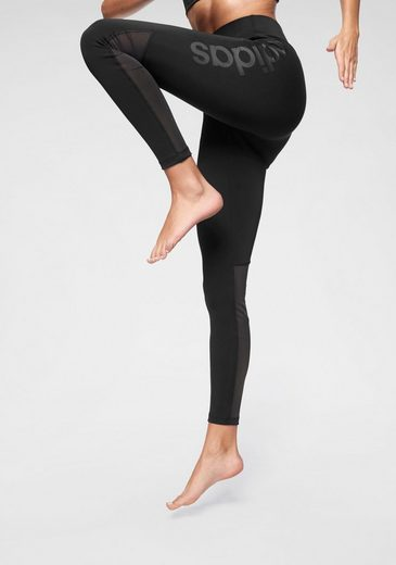 adidas Funktionstights »DESIGN TO MOVE LOGO HR LONG TIGHT«