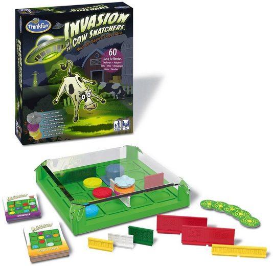 Thinkfun® Spiel, »Invasion of Cow Snatchers«