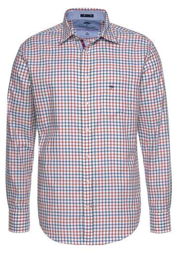 FYNCH-HATTON Langarmhemd mit Karomuster