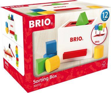 BRIO® Steckspielzeug »Sortierbox«