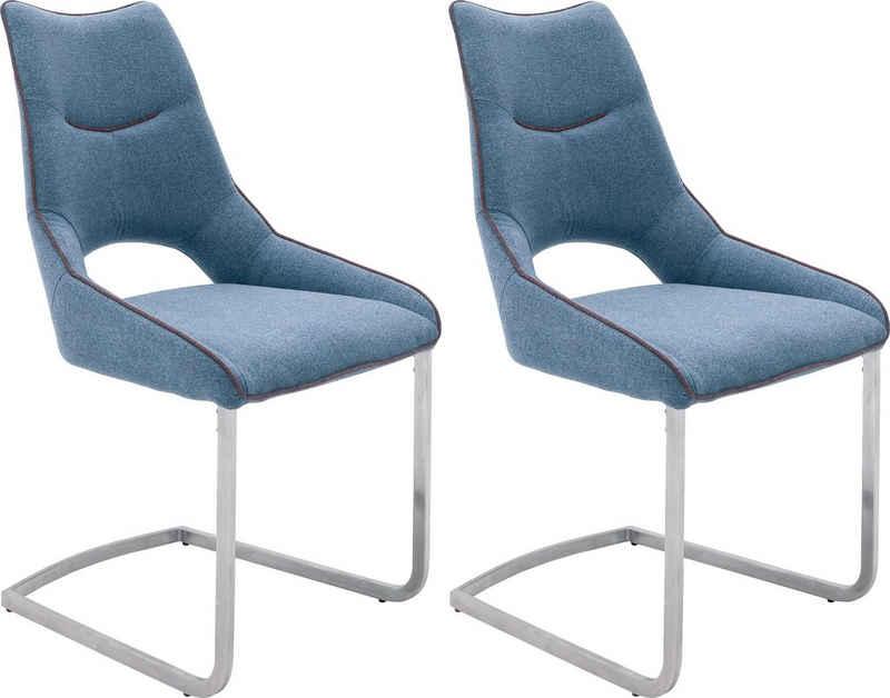 MCA furniture Freischwinger »Aldrina« (Set, 2 Stück), Stuhl bis 120 Kg belastbar