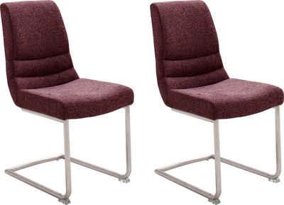 MCA furniture Freischwinger »MONTERA« (Set, 2 Stück), Stuhl belastbar bis 140 Kg