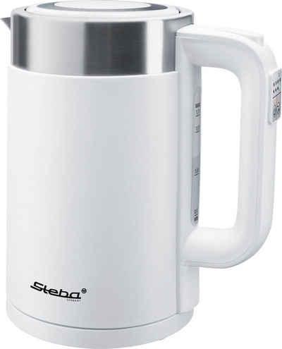 ICQN Wasserkocher | 1.7 Liter| Edelstahl | 2200 Watt | 360