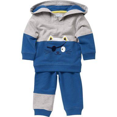 vertbaudet Baby Set Sweatshirt + Sweathose für Jungen