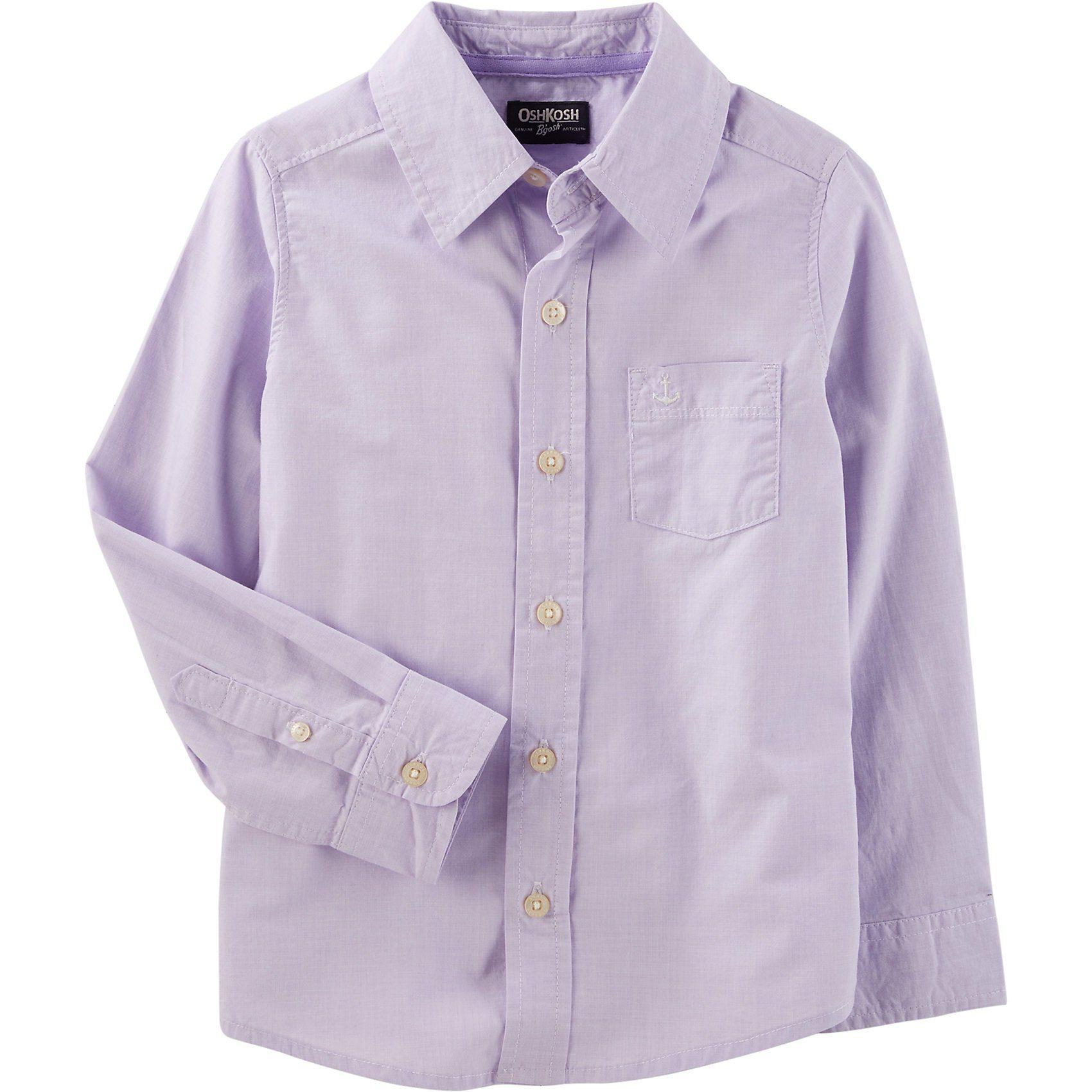Herren,  Jungen,  Kinder OshKosh B'gosh® Langarmhemd mit Anker für Jungen    00190796581361