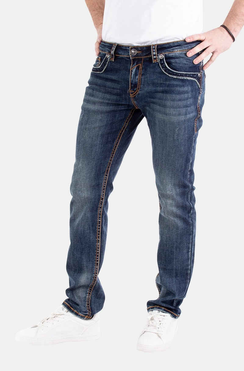 Blue Monkey Slim-fit-Jeans »Boris« (1-tlg)