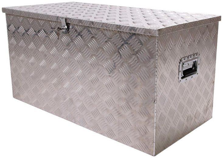 ONDIS24 Allzweckkiste Aluminium, Riffelblech, 250 l