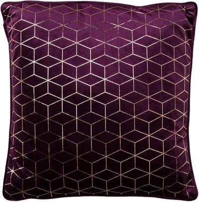 Schwarz Dekokissen Couchkissen Homing Kissen Theo 40 x 40 cm ohne Füllung