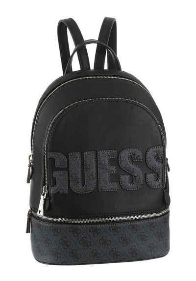 fa71e05eb268f6 Guess Cityrucksack, mit aufgenähtem Logoschriftzug