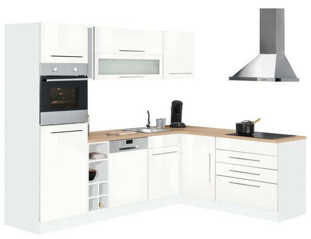 Einbauküchen - HELD MÖBEL Winkelküche »Eton«, ohne E Geräte, Stellbreite 260 x 190 cm  - Onlineshop OTTO