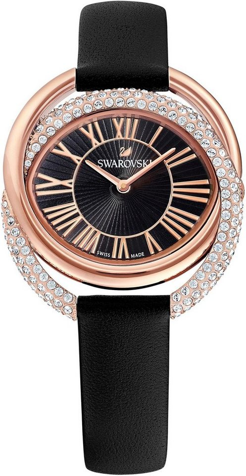 Swarovski Schweizer Uhr »DUO LS, 5484373« | Uhren > Schweizer Uhren | Schwarz | Swarovski