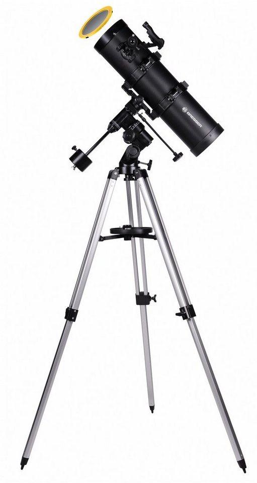 bresser teleskop spica 130 650eq3 spiegelteleskop mit. Black Bedroom Furniture Sets. Home Design Ideas