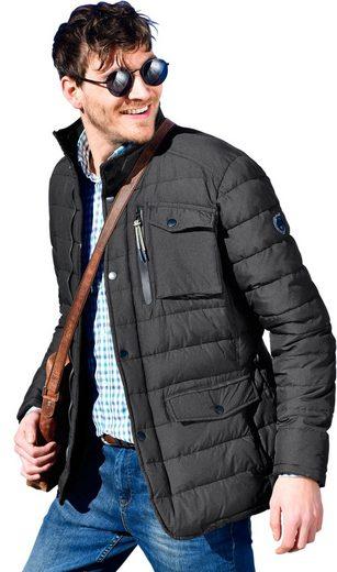 Lerros Jacke mit feinem grafischen Muster