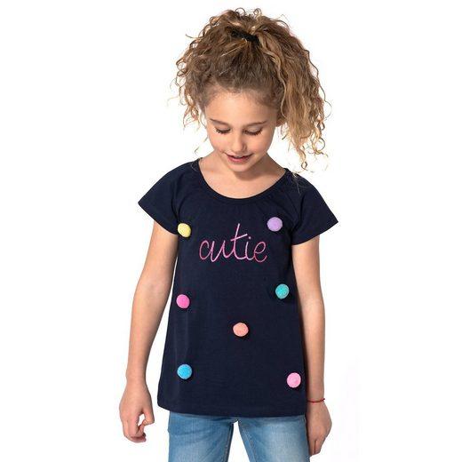 MyToys-COLLECTION T-Shirt für Mädchen mit Pompons von ZAB kids