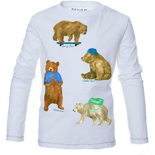 REVIEW for Kids Langarmshirt für Jungen
