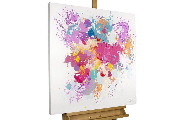 KUNSTLOFT Gemälde »Dem Pinsel entwischt«, handgemaltes Bild auf Leinwand