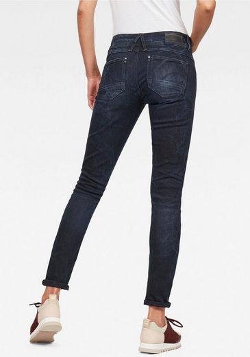 G-Star RAW Skinny-fit-Jeans »Lynn Mid Skinny« Wohlfühlfaktor durch Elasthan