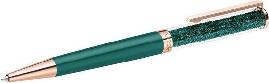 Swarovski Kugelschreiber »CRYSTALLINE BP PEN - ROS GREEN, 5479562«, mit Swarovski® Kristallen