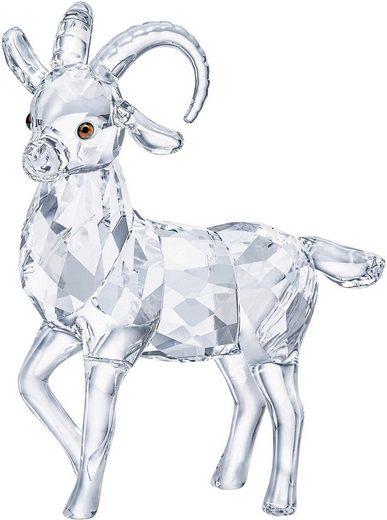 Swarovski Dekofigur »STEINBOCK, 5464877« (1 Stück), Swarovski® Kristall mit schwarzem Emaille