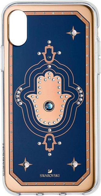 Taschen, Hüllen - Swarovski Smartphone Hülle »TAROT HAND IPXR CASE MULTI, iPhone® XR, blau, 5507387« Apple iPhone XR, mit Swarovski® Kristallen  - Onlineshop OTTO